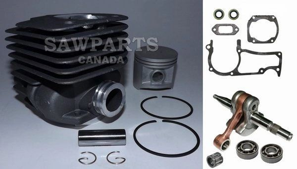 HUSQVARNA 362, 365*, 371, 371K, 372*, 372K*, 375*, 375K* Jonsered 2063, 2065, 2071, 2163, 2171 OVERHAUL REBUILD KIT NIKASIL 50MM