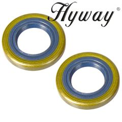 Husqvarna 45, 49, 50, 51, 55, 154, 254, 257, 262, 357, 359, 240, 245 CRANKSHAFT OIL SEAL SET