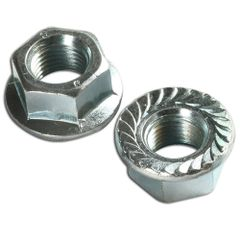 <>M5 X 1 MUFFLER COLLAR NUT SET FITS STIHL, HUSQVARNA MANY MODELS