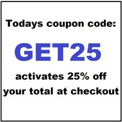 Today's coupon code