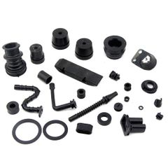 <>STIHL MS660, MS650, 066 ANTI-VIBE BUFFER, MANIFOLD, OIL-FUEL-IMPULSE LINE, GROMMET 25 PCS. RUBBER REBUILD KIT