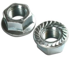 M6 X 1 MUFFLER COLLAR NUT SET FITS TS350, TS360, S10, 08