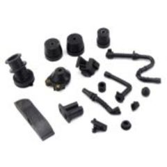<>STIHL MS460, MS440, 046, 044 ANTI-VIBE BUFFER, MANIFOLD, OIL-FUEL-IMPULSE LINE, GROMMET 16 PCS. RUBBER REBUILD KIT