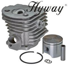 <>HUSQVARNA 55, 51 Hyway brand OPEN PORT CYLINDER KIT NIKASIL 46MM