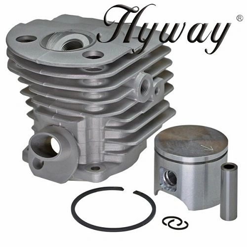 <>HUSQVARNA 55, 51 Hyway brand OPEN PORT CYLINDER KIT NIKASIL 46MM