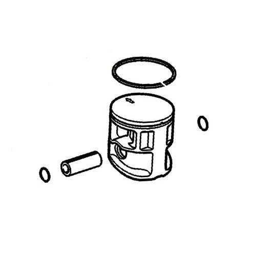 <>STIHL MS 150, MS150C, MS150CE, MS150TC PISTON ASSEMBLY 34MM