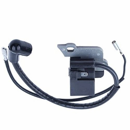 IGNITION COIL FITS PARTNER 350, 351, 370, 371, 390, 420, 440, Poulan 210, 221, 230, 260, 1950, 1975, 2050, 2150, 2155, 2175, 2250, 2375, LE, Plus, PP, Predator, Pro, Wildthing, Jonsered CS2137