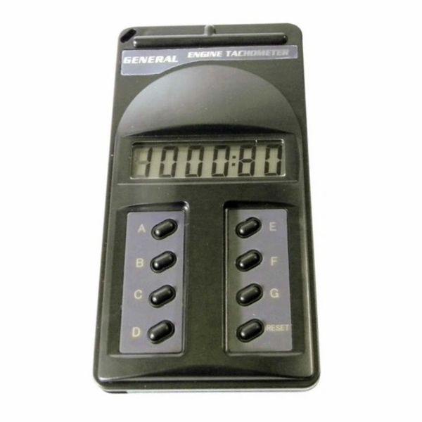 Small Engine Pulse-activated Tachometer with Digital Display 2 and 4 Cycle Engines