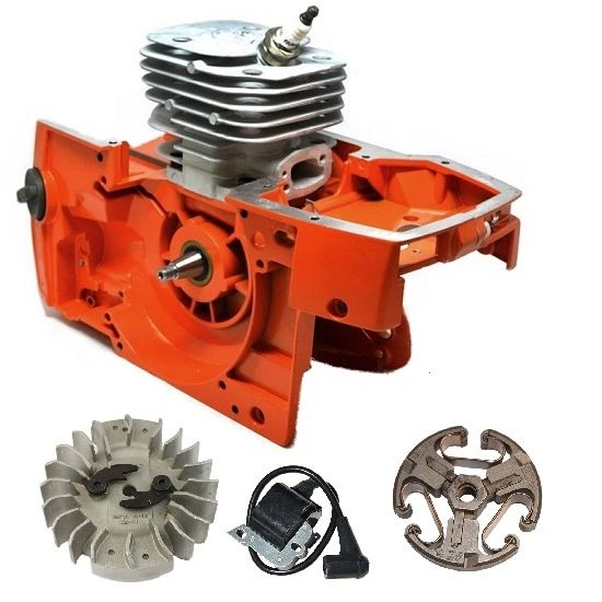 <>Husqvarna 61, 268, 272 XP ENGINE CRANKCASE CRANKSHAFT ASSEMBLY