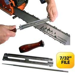 """C2962-Economy Fast Filer - 7/32"""" TOOL for 3/8"""" pitch chain"""