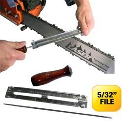 """<>C2963-Economy Fast Filer - 5/32"""" TOOL for 1/4 and 3/8"""" LP pitch chain"""
