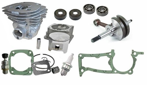 <>HUSQVARNA 350, 345, 340 Jonsered 2150, 2145, 2141 OVERHAUL KIT STANDARD 44MM