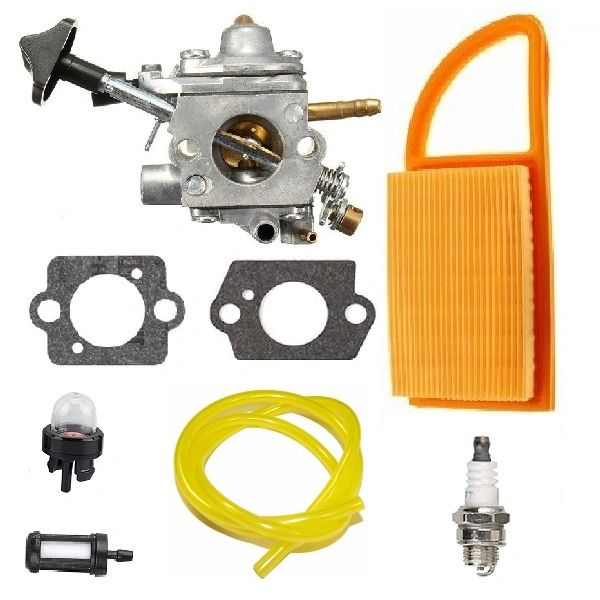 STIHL BR500, BR550, BR600 Zama C1Q-S183 CARBURETOR WITH FUEL LINE AND FILTERS KIT