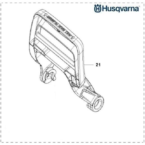 <>HUSQVARNA 543 XP, XPG O.E.M. ORIGINAL BRAKE HAND GUARD 581 64 73-02