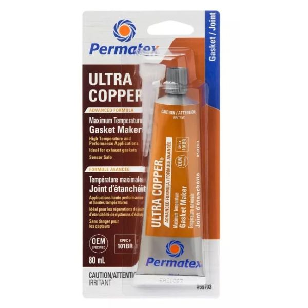 Permatex Hi-Temp Ultra Copper Silicone Gasket Maker