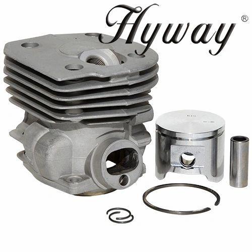 HUSQVARNA 350, 353 Jonsered 2150, 2152 Hyway brand NIKASIL CYLINDER KIT 45MM (Brown Box Packaging)
