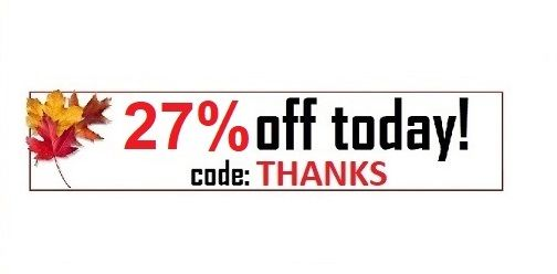 //Today's coupon code