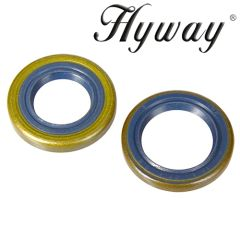 Husqvarna 362, 365, 371K, 371, 372 Jonsered 2063, 2065, 2071, 2165, 2171 CRANKSHAFT OIL SEAL SET