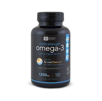 Omega-3 Fish Oil, 180 softgels