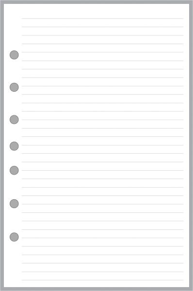 FCS Lined Note Paper
