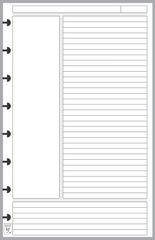LVJ Note Paper Designed for the Cornell Notetaking System