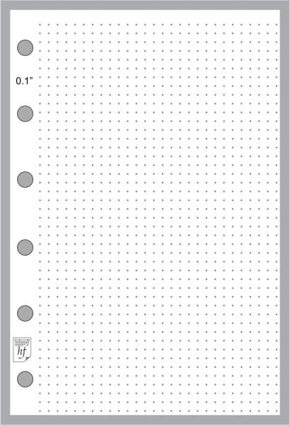 "FPK Dot Grid Paper (0.10"")"