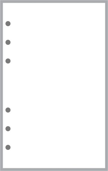A6 Blank Pages