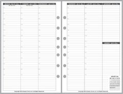 FCS Weekly Planner, 2 Pages per Week, 2 Pages per Month (Style V)