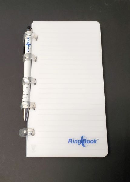 RingBook Personal Size Binder - Frosted Cover