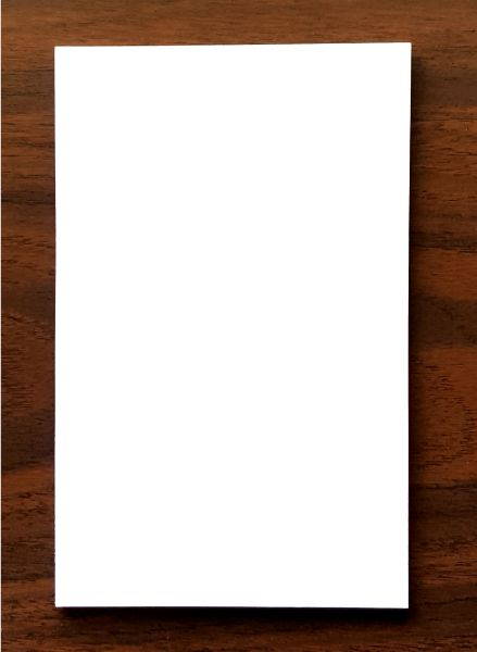 "Pad - Blank Paper 5"" x 8"""