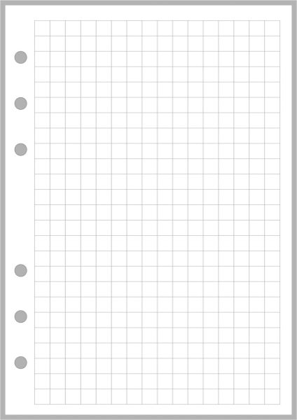 "PW Graph / Grid Paper (0.25"") - Personal Wide"
