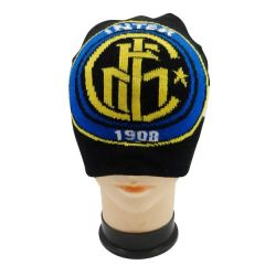 INTER MILAN WITH LOGO SOCCER TOQUE HAT .. HIGH QUALITY .. NEW