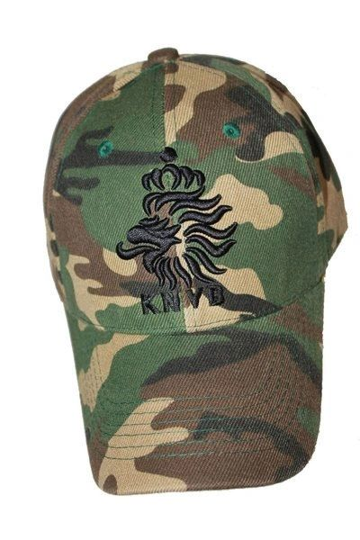 NETHERLANDS HOLLAND CAMOUFLAGE KNVB LOGO FIFA SOCCER WORLD CUP HAT CAP .. NEW
