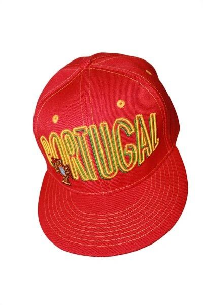 PORTUGAL RED SNAPBACK FPF LOGO FIFA SOCCER WORLD CUP HIP HOP HAT CAP .. NEW