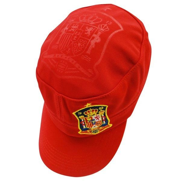 SPAIN RED COUNTRY FLAG FIFA SOCCER WORLD CUP MILITARY STYLE HAT CAP .. NEW