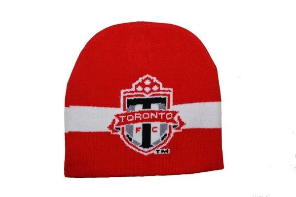 TORONTO F.C. RED SOCCER TOQUE HAT .. NEW