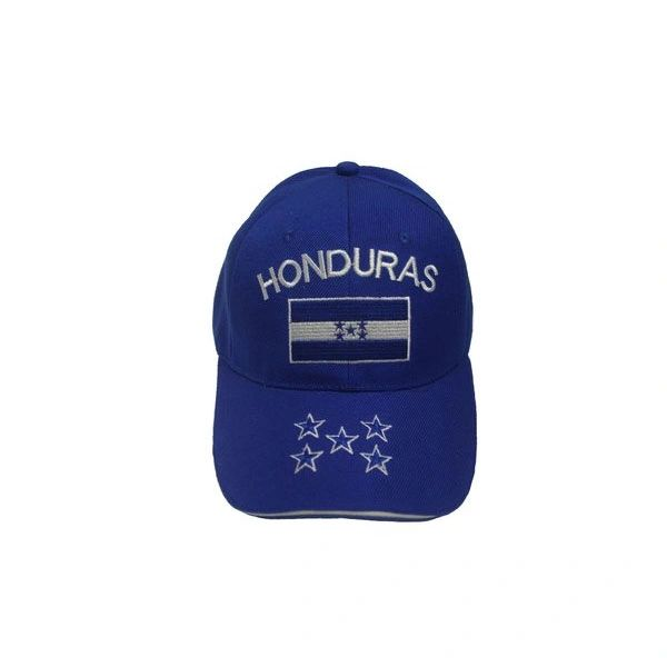 HONDURAS BLUE COUNTRY FLAG EMBOSSED HAT CAP .. NEW