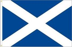 SCOTLAND - ST. ANDREW LARGE 3' X 5' FEET COUNTRY FLAG BANNER .. NEW AND IN A PACKAGE