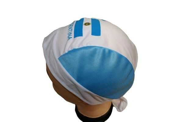 ARGENTINA COUNTRY FLAG FIGC LOGO FIFA SOCCER WORLD CUP DOO RAG HAT .. NEW