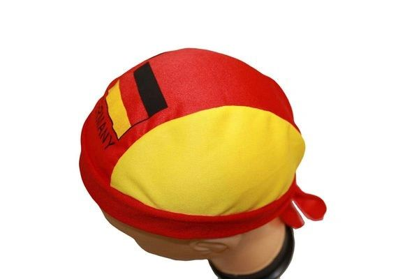 GERMANY COUNTRY FLAG FIGC LOGO FIFA SOCCER WORLD CUP DOO RAG HAT .. NEW