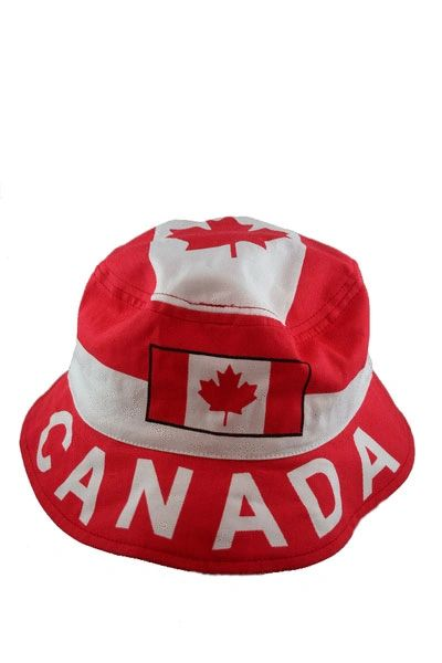 CANADA COUNTRY FLAG BUCKET HAT CAP .. NEW