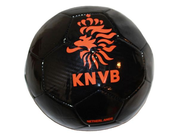 NETHERLANDS HOLLAND BLACK KNVB LOGO ORANGE FIFA WORLD CUP SOCCER BALL SIZE 5 .. NEW AND IN A PACKAGE