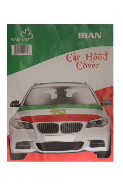 IRAN Country Flag CAR HOOD COVER