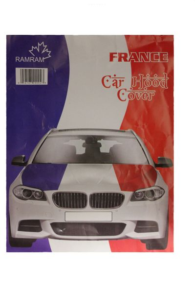 FRANCE Country Flag CAR HOOD COVER
