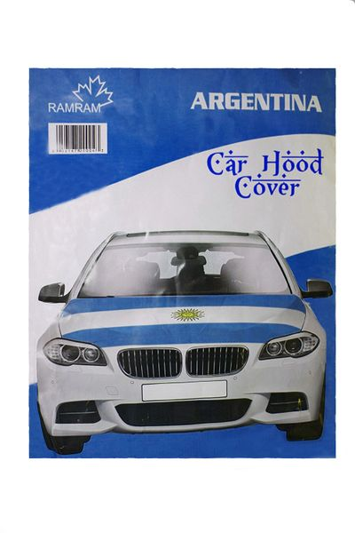 ARGENTINA Country Flag CAR HOOD COVER
