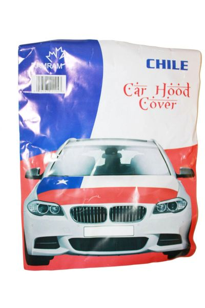 CHILE Country Flag CAR HOOD COVER