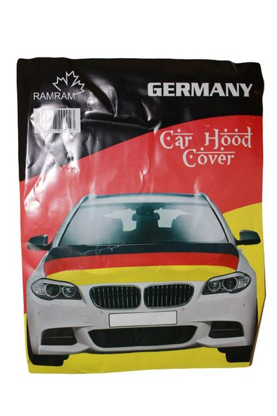 GERMANY Country Flag CAR HOOD COVER