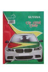 GUYANA Country Flag CAR HOOD COVER