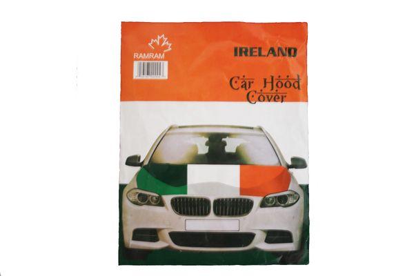 IRELAND Country Flag CAR HOOD COVER.