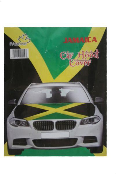 JAMAICA Country Flag CAR HOOD COVER